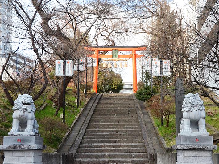 平安時代に京都で創建された歴史を持つ榴岡天満宮