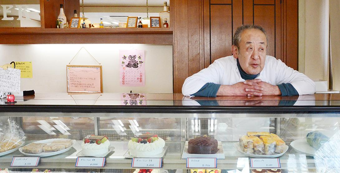 【聞くまち・榴岡】お花見も球場もすぐそばの、昔ながらのケーキ店