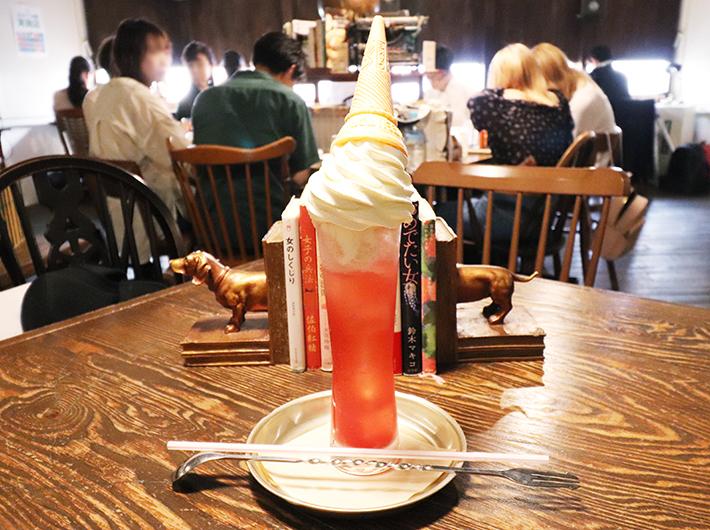 クリームソーダ 800円(税込)※いちご味は雨の日限定