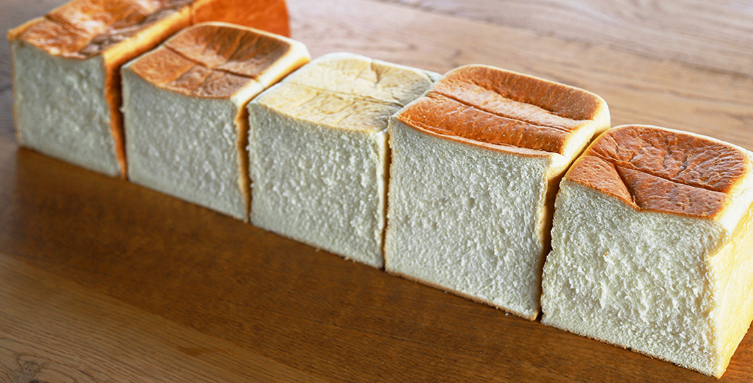 仙台中心部の高級食パン人気5店を食べ比べてみました!