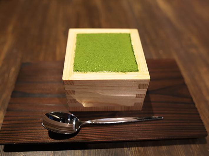升入り抹茶レアチーズケーキ
