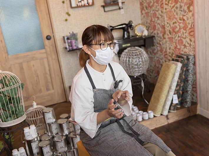 マネージャー ミヤハラ タエコさん