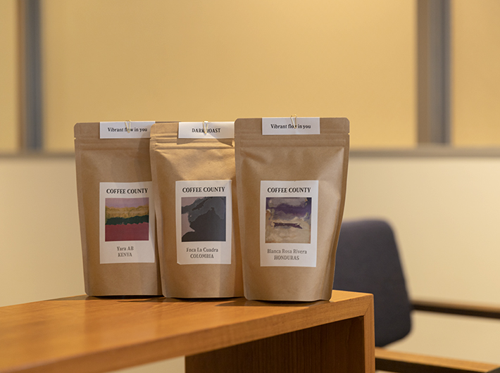 コーヒー豆のみの購入も可能