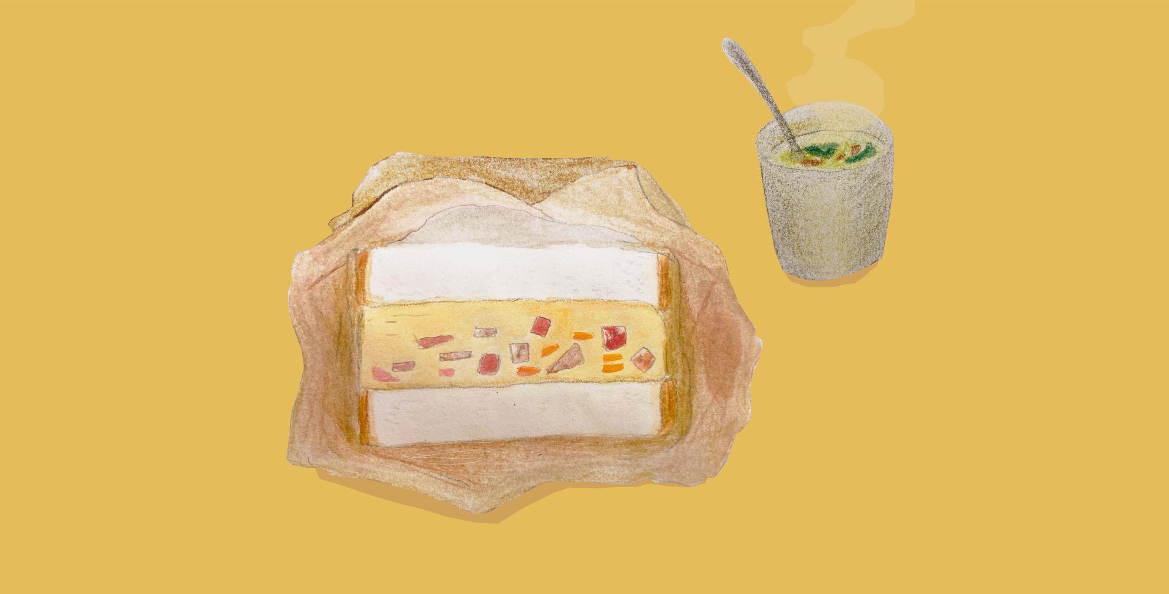 くらしとおやつ 「ing」の玉子サンド