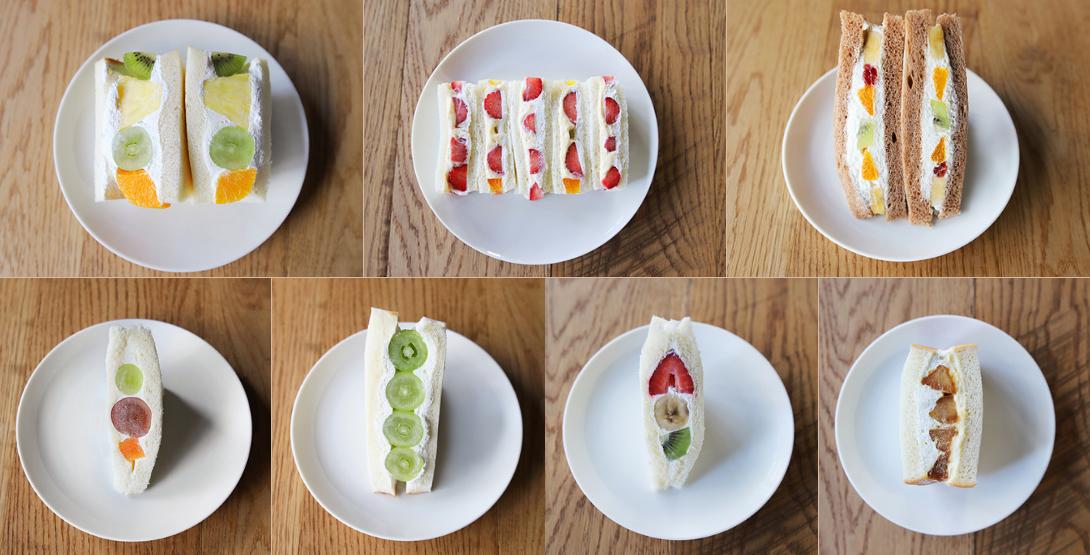 仙台で人気のフルーツサンド7種類を食べ比べてみました!