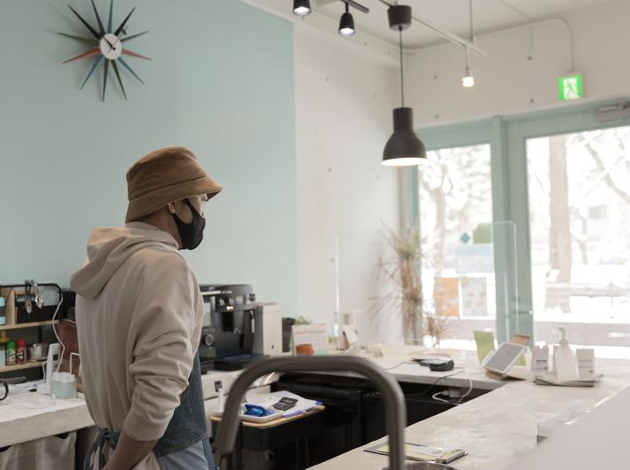 BENCH salon&kitchen キッチン担当:阿部さん