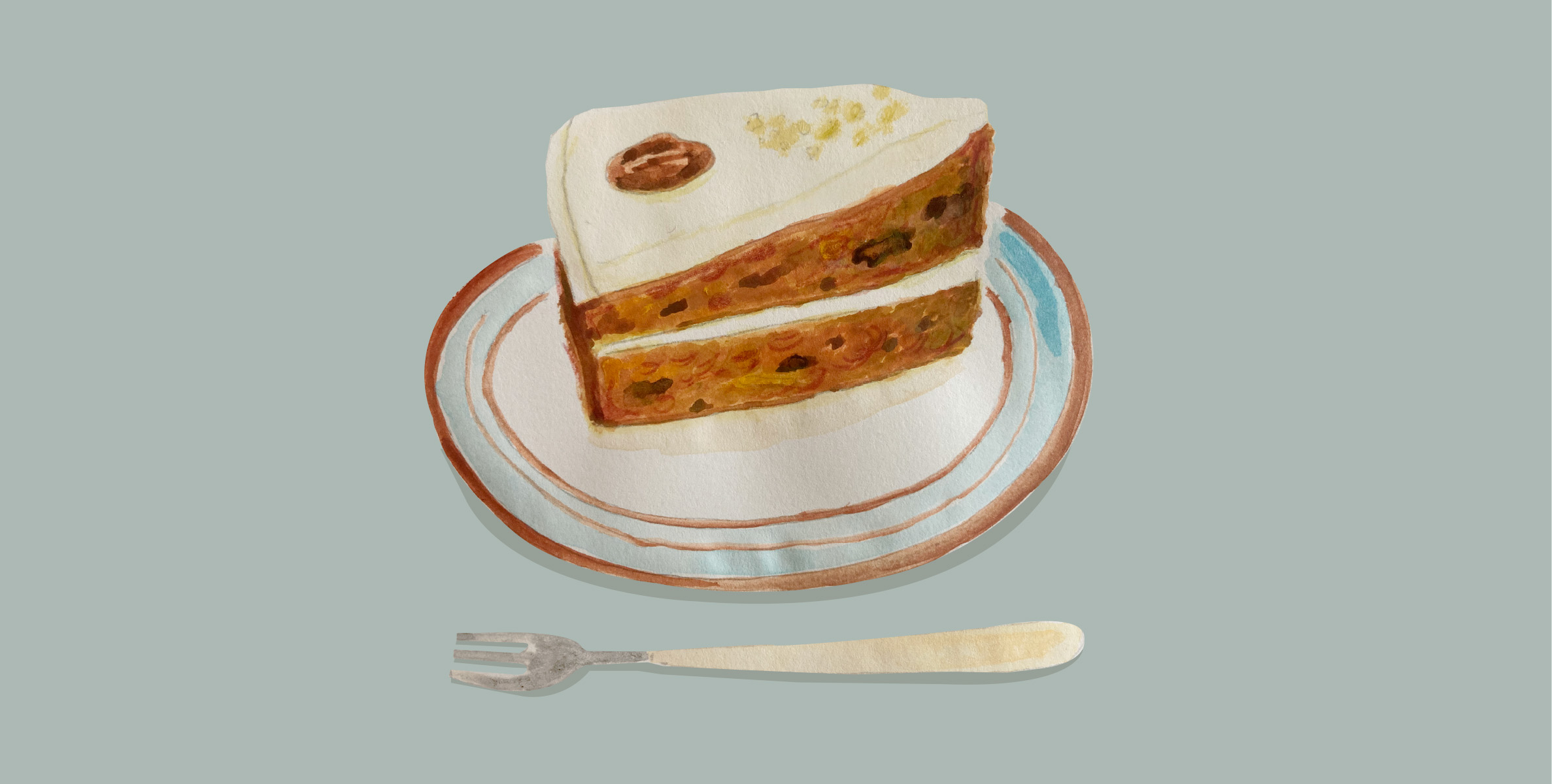 くらしとおやつ「Northfields(ノースフィールズ)」のキャロットケーキ