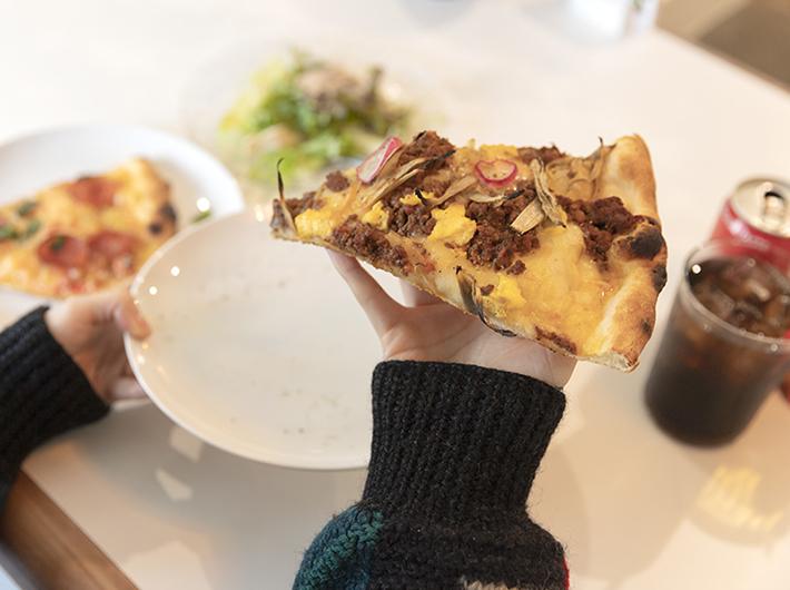 週替わりピザ