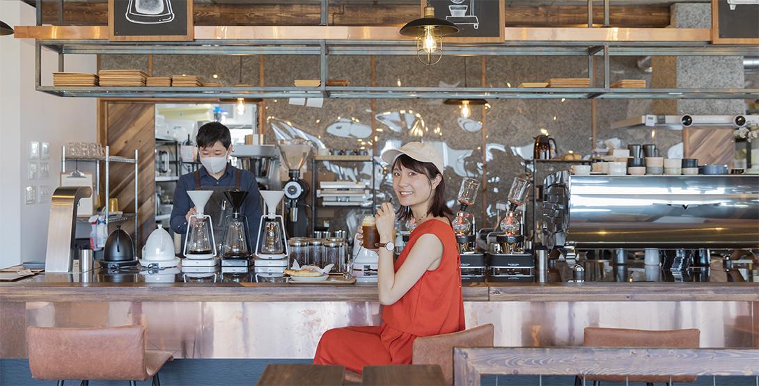 「KEYAKI COFFEE(ケヤキコーヒー)」と「Boulangerie Girafe(ブーランジェリー・ジラフ)」で卸町の魅力を再発見!