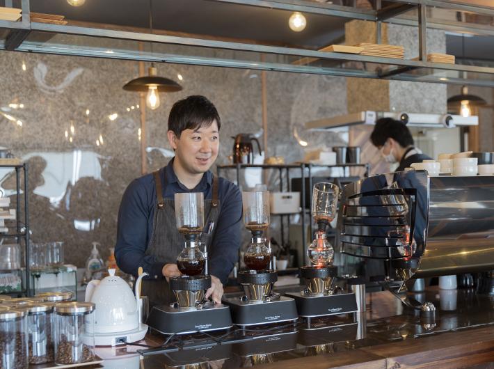 (KEYAKI COFFEE 店主・松木さん)