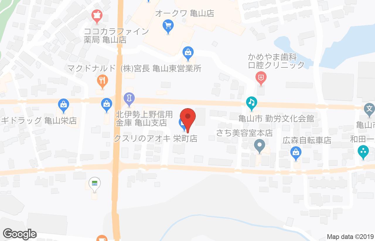 亀山 オークワ