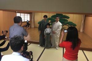 千五郎・茂 兄弟会「傅之会」プレス会を行いました!