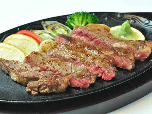 群馬の誇るブランド牛☆上州牛ステーキ付♪地野菜のおごっつぉ料理プラン