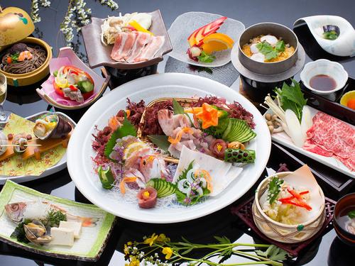 【料理長イチオシ!】旬の地魚・のどぐろ・美蓉豚・島根牛〜島根の美味しいものまるごと会席
