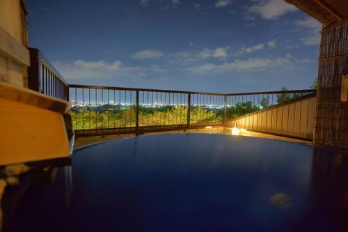 貸切家族露天風呂付で癒す天空の旅◆プライベート重視