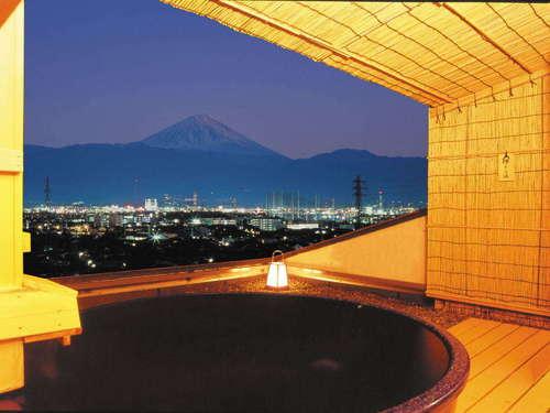 甲府の夜景を独占する温泉 11種類のお風呂 ホテル神の湯温泉S190256