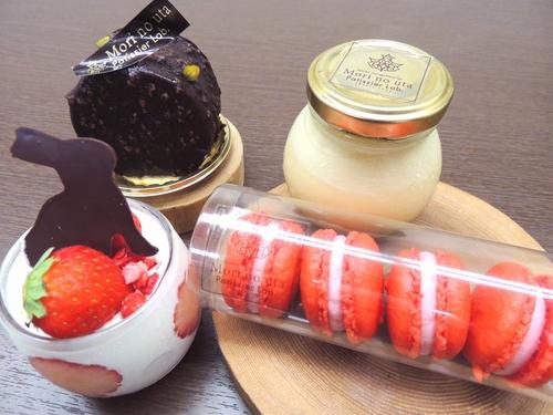 【お土産付き】チェックアウト時パティシエ特製ケーキセットをお渡し/ビュッフェ