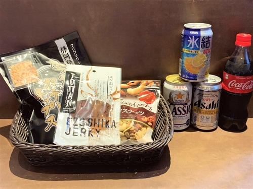 【お部屋で乾杯】おつまみ&ビール「お部屋飲みセット」付き/ビュッフェ