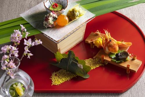 【三密避けて安心空間】<和食会席>全個室の食事処で大切な人とお祝いに。地元の幸を美しく<乃の風茶寮>