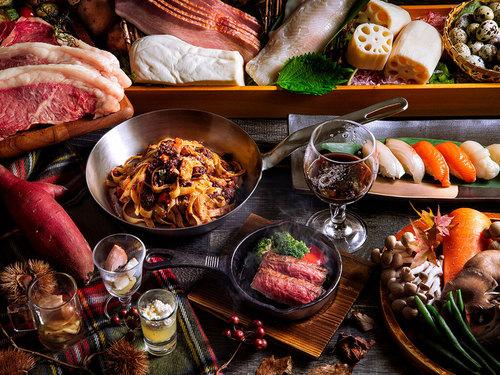 <ブッフェ>洞爺湖を一望できるレストランで季節の美味旬旅<レストラン波の音>