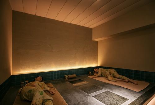 【貸切岩盤浴50分付】(夕食:ブッフェ)プライベートな個室岩盤浴で冷えた身体に温感を