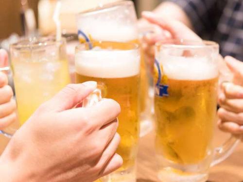 ★60分飲放付★まずは生ビールで乾杯!/ ビュッフェ ★2名迄★