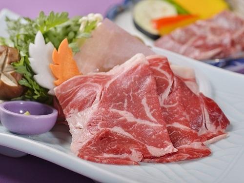 ★北海道産牛肉付★すき焼きorしゃぶしゃぶ一人鍋 / ビュッフェ ★2名迄★
