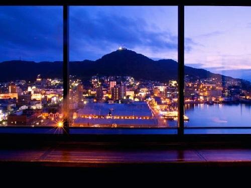【高層階確約/朝食付】満足度No.1!お部屋から函館夜景を満喫♪