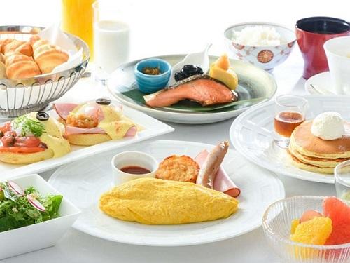 【ベストフレキシブルレート】ライブ感あふれるブッフェレストランでできたての朝食で1日のスタートを!