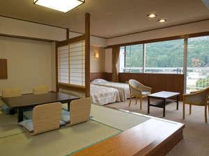 つばき亭・和洋室の一例