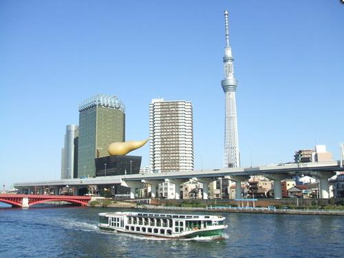 【東京観光シリーズ】「水上バス」乗船券付!浅草〜お台場間の『TOKYO CRUISE』♪ご当地自慢!