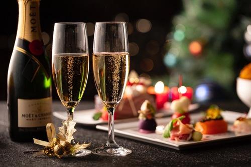 【シャンパンで乾杯】 お台場で過ごす二人の記念日・ロマンスパッケージ/朝食付き