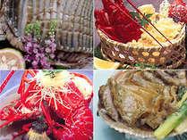 量より質【伊勢海老or鮑】選べるメイン料理8種からチョイス♪