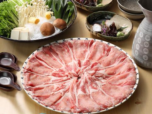 <夕食/お部屋食確約>【選べる鍋プラン】京野菜たっぷり鶏豚ちゃんこor豚しゃぶ!追加料金で贅沢鍋も