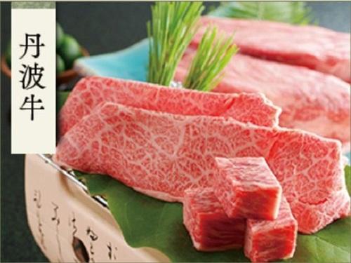 【丹波牛ステーキ】丹波が誇るブランド牛をステーキで