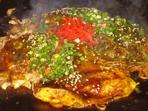 広島のお気軽旅行に!ご夕食はカジュアルな居酒屋風のお店でお好み焼きを 『広島づくし』プラン
