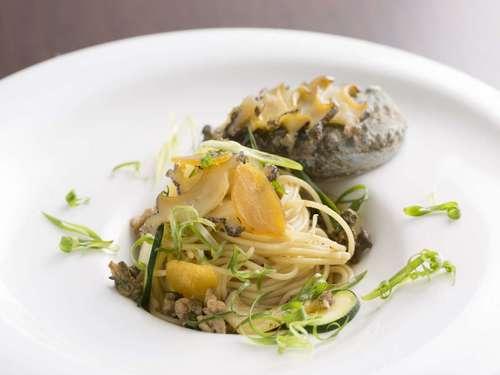 関門海峡の夜景を臨みながら旬食材を愉しむイタリアンディナー(夕朝食付)