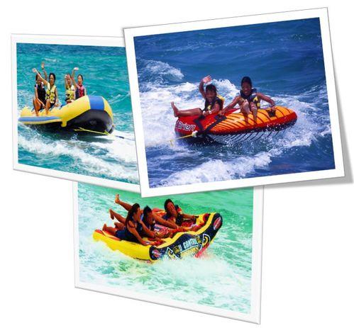 【2連泊以上】波にのってスピードとスリルを楽しむ!マリン3種目&朝食付
