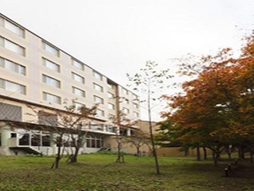 奥入瀬森のホテルS020079