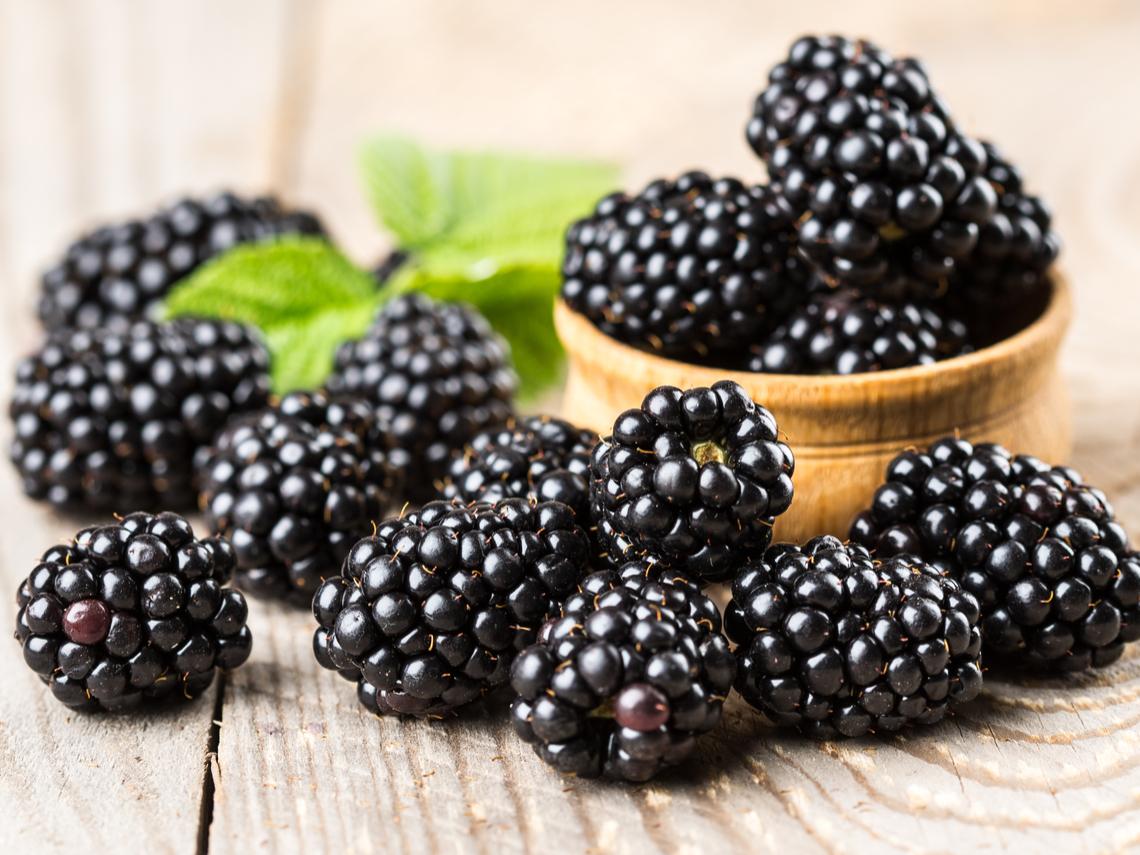 黑醋栗、黑莓、藍莓…都含有豐富花青素。
