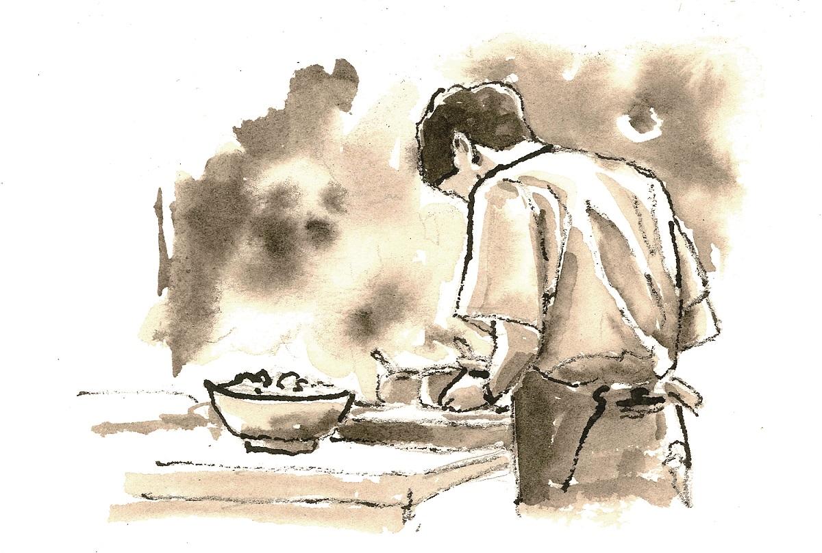 煮給父親的最後一道菜。