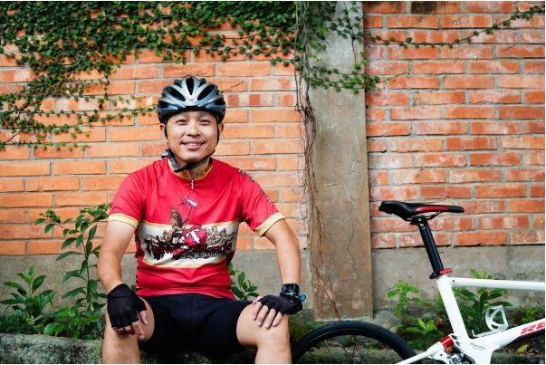 臺灣自行車旅遊協會發起人姜俊瑋