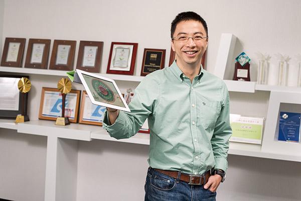 台微體總經理葉志鴻
