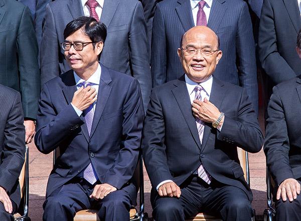 蘇貞昌與陳其邁
