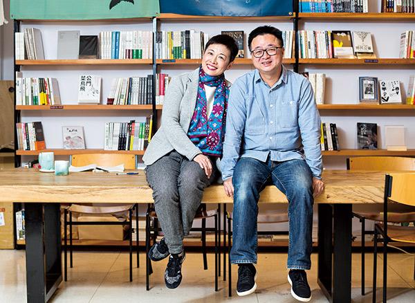 羅文嘉和妻子劉昭儀