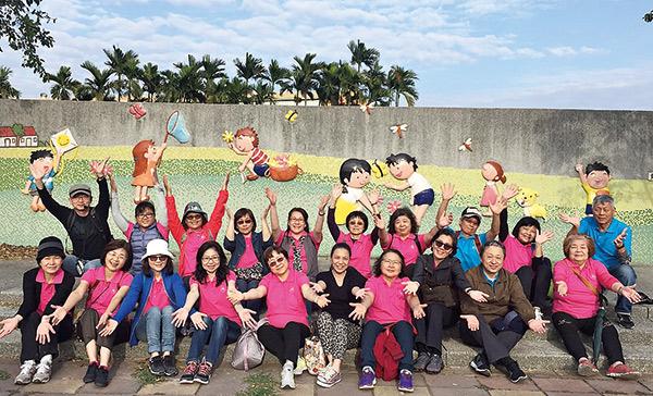 陸府推動樂齡課程旅遊活動
