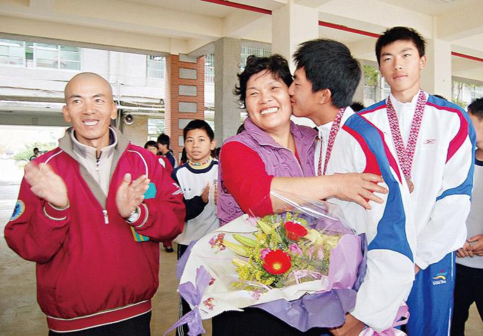 潘政琮與家人