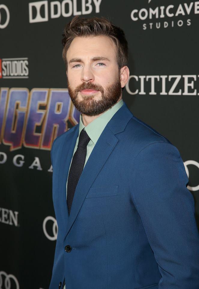 漫威宇宙超級英雄美國隊長克里斯伊凡