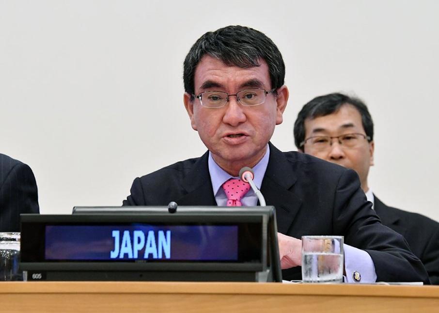 日本外務大臣河野太郎對台灣通過「反核食」公投表示遺憾。