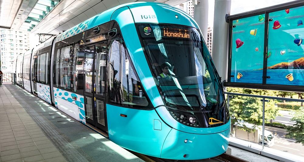 淡海輕軌將於下班尖峰時段增加班次、縮短班距。圖/新北大眾捷運公司官網。